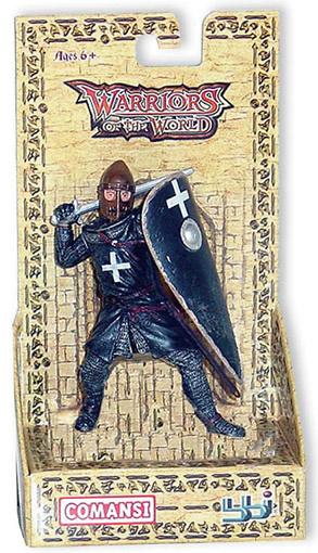 Cruzado Orden del Hospital con espada, 1:18, Blue Box