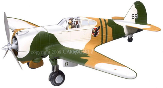 Curtiss P-36A Hawk, USAAC 15th PG, 27th PS, 1:48, Carousel