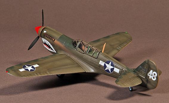 Curtiss P40, Warhawk, 74th Squadron, Kwellin, China, 1945, 1:72, War Master