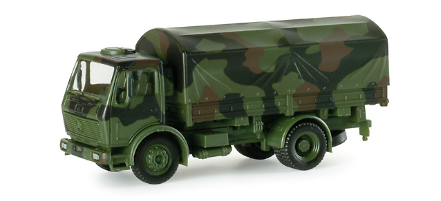 DB LKW 5t pick-up/canvas BW,1:87, Minitanks