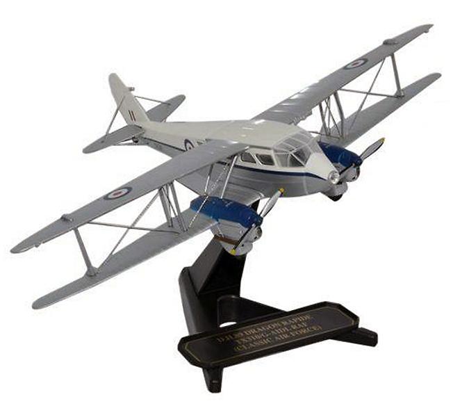 DH Dragon Rapide TX310, G-AIDL RAF, Classic Air Force, 1:72, Oxford
