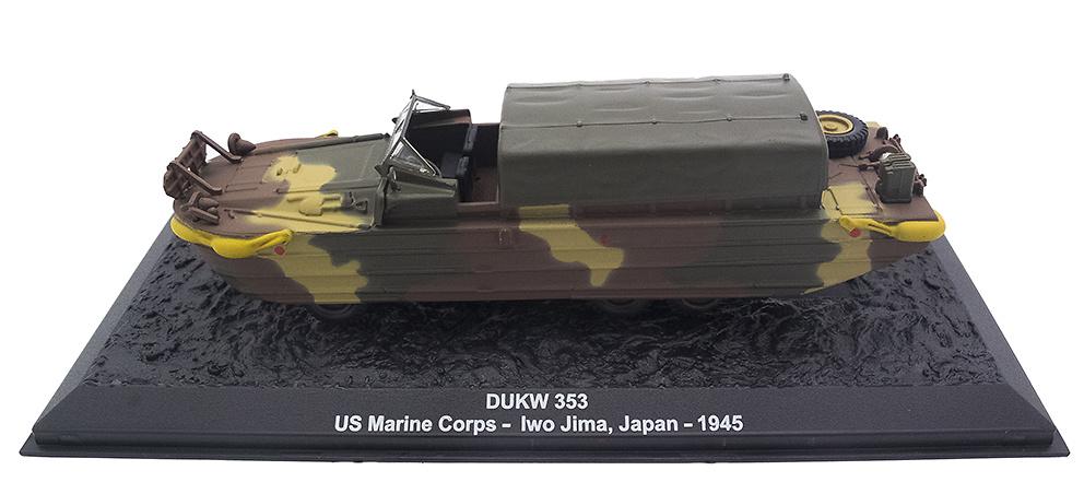 DUKW 353, US Marine Corps, Iwo Jima, (Japón) 1945, 1:72, Altaya