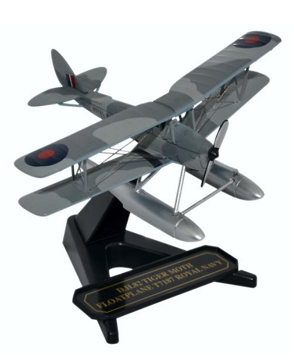 De Havilland, Hidroavión Tiger Moth, Royal Navy, 1:72, Oxford