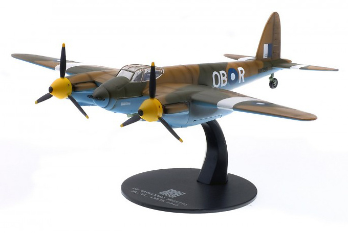 De Havilland DH98 Mosquito MK. VI, India, 1945, 1:72, Solido