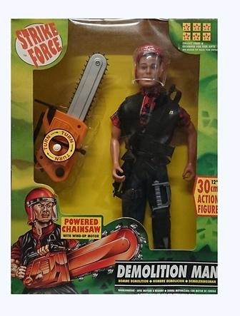 Hombre demolicion, Strike Force, Sunny Smile