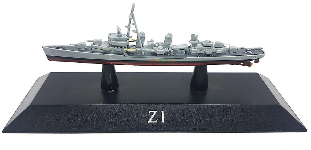 Destructor Z1, Deutsche Marine, 1959, 1:1250, DeAgostini