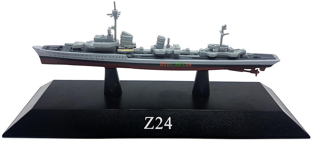 Destructor Z24, Kriegsmarine, 1940, 1:1250, DeAgostini