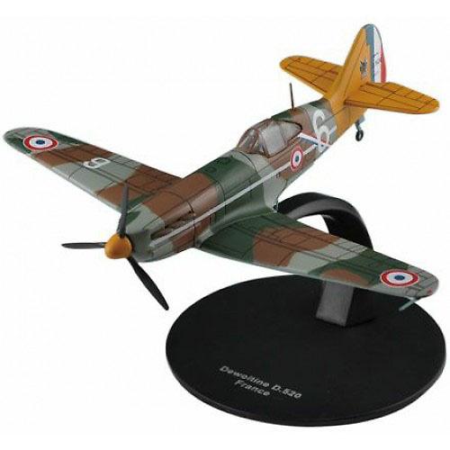 Dewoitine D.520, Ejército del Aire francés, 2ª G.M., 1:72, DeAgostini