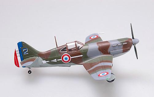Dewoitine D.520 nº 90, GCl/3, oficial Madon′s, Armee de l'Air, 1940, 1:72, Easy Model