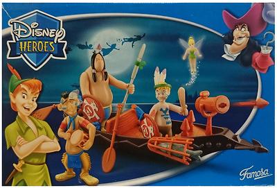 Disney Heroes, Peter Pan, Famosa