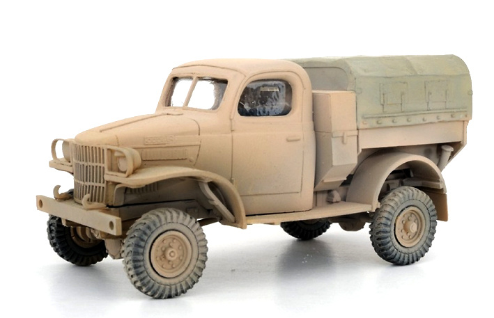 Dodge D8, 1:48, Wespe Models