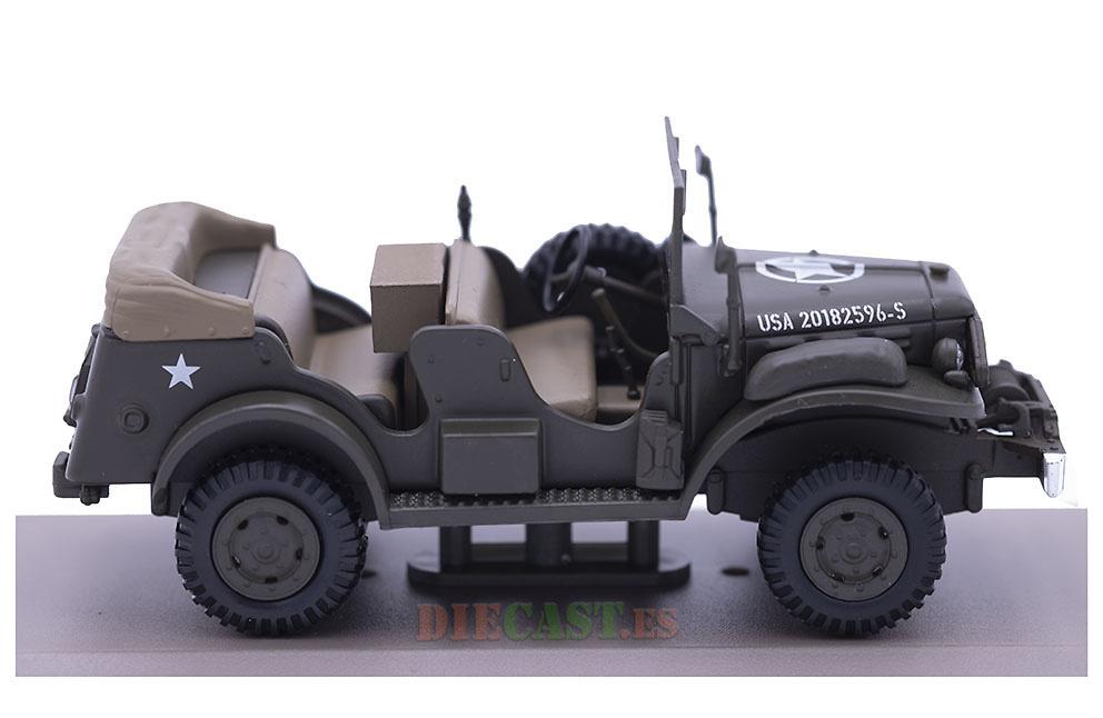 Dodge Truck WC, Vehículo de Mando, USA, 1942-45, 1:43, Atlas
