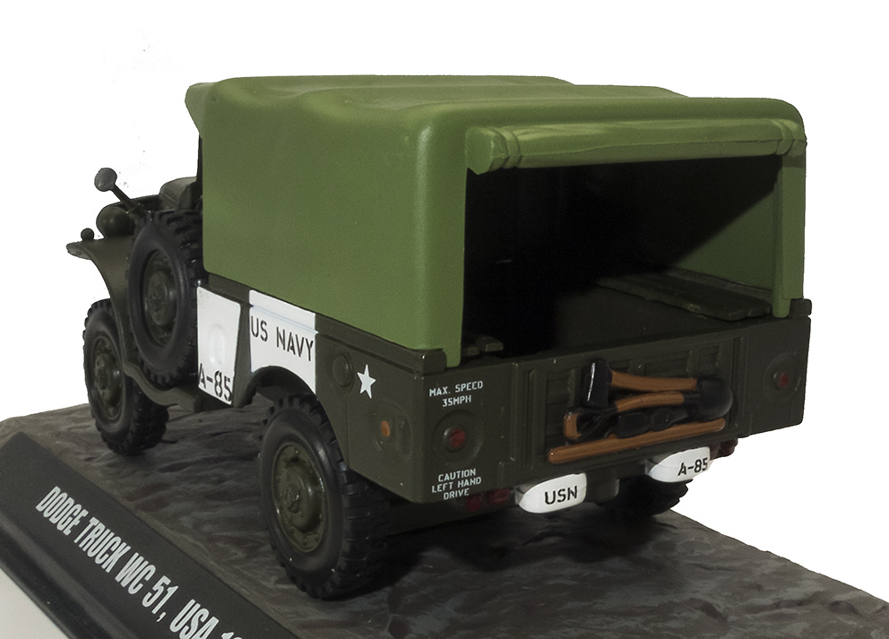 Dodge Truck WC 51, USA, 1945, 1:43, Atlas