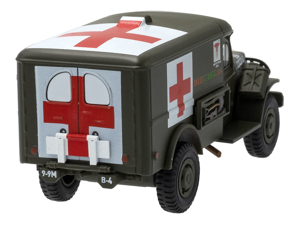Dodge Truck WC54 Ambulancia, 1942-45, 1:43, Atlas