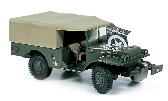 Dodge WC-52; U.S. Army, 1:24, Kaden