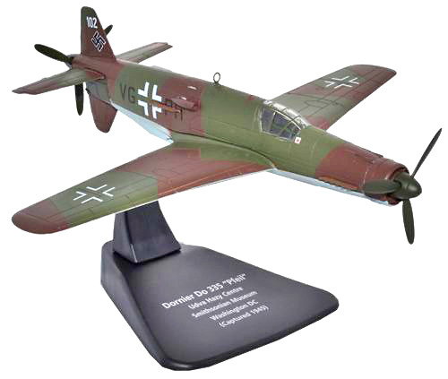 Dornier Do 335, Pfeil Smithsonian Museum, Capturado en 1945, 1:72, Oxford