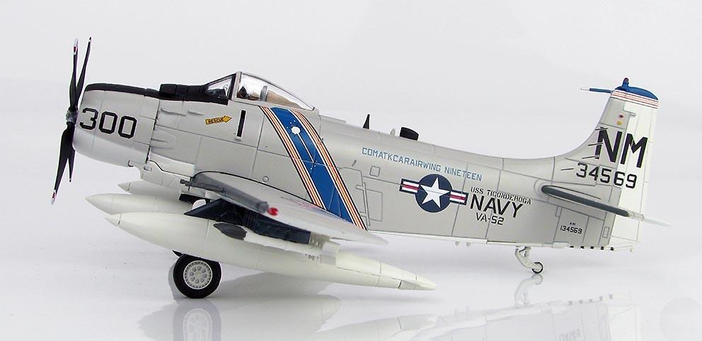 Douglas A-1H Skyraider BuNo 134569, VA-52