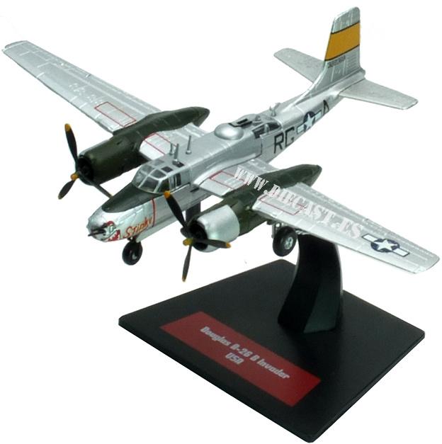 Douglas A-26/B-26 Invader , USA, 1:144, Altaya