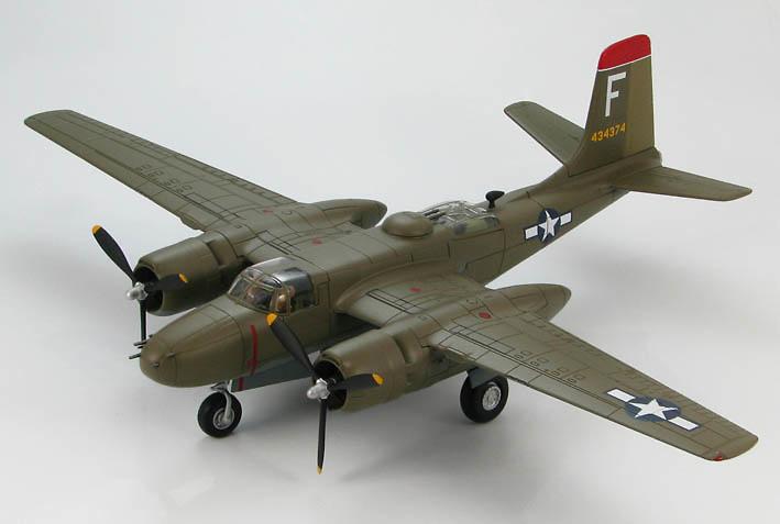 Douglas A-26B Invader 44-34374, 13th BS/3rd BG Atsugi, Japan, late 1945 1:72, Hobby Master