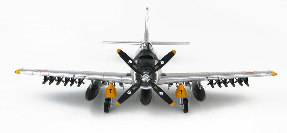Douglas AD-4 Skyraiders EC-2/20, Fuerza Aérea Francesa, principio años 60, 1:72, Hobby Master