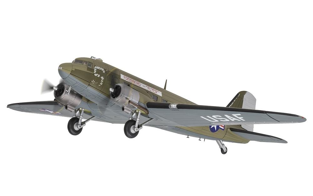 Douglas C-47A Skytrain™ 315208 'Fassberg Flyer', US Air Force, Berlin Airlift, 1:72, Corgi