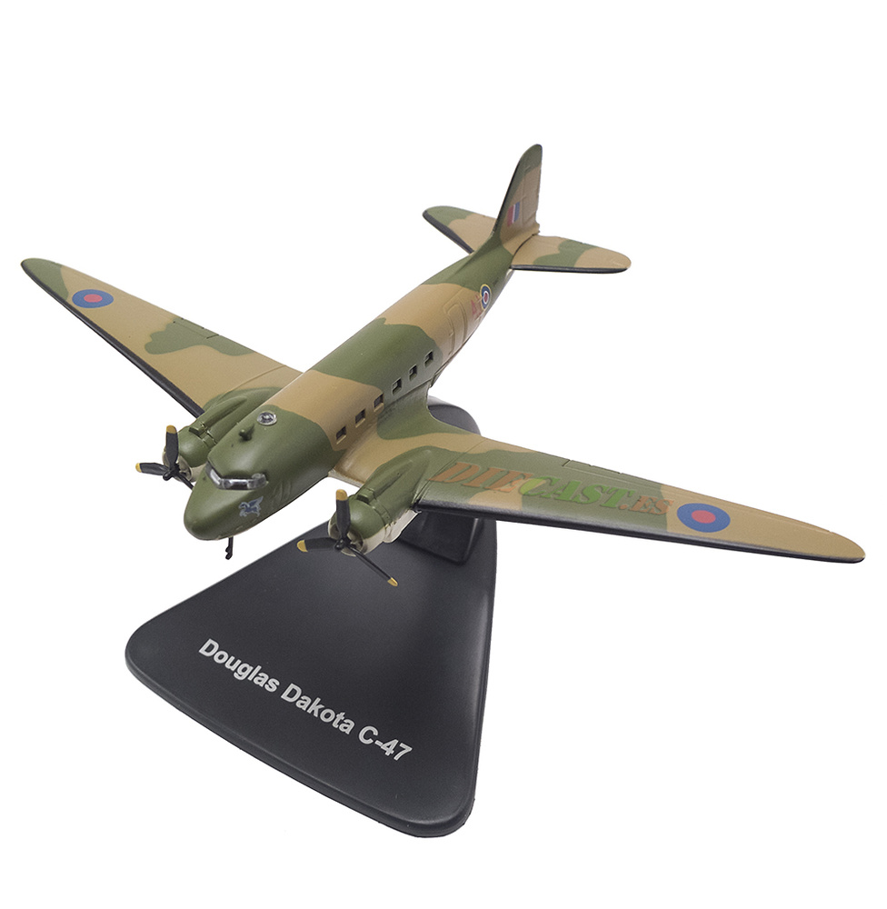 Douglas Dakota C-47, 1:144, Editions Atlas