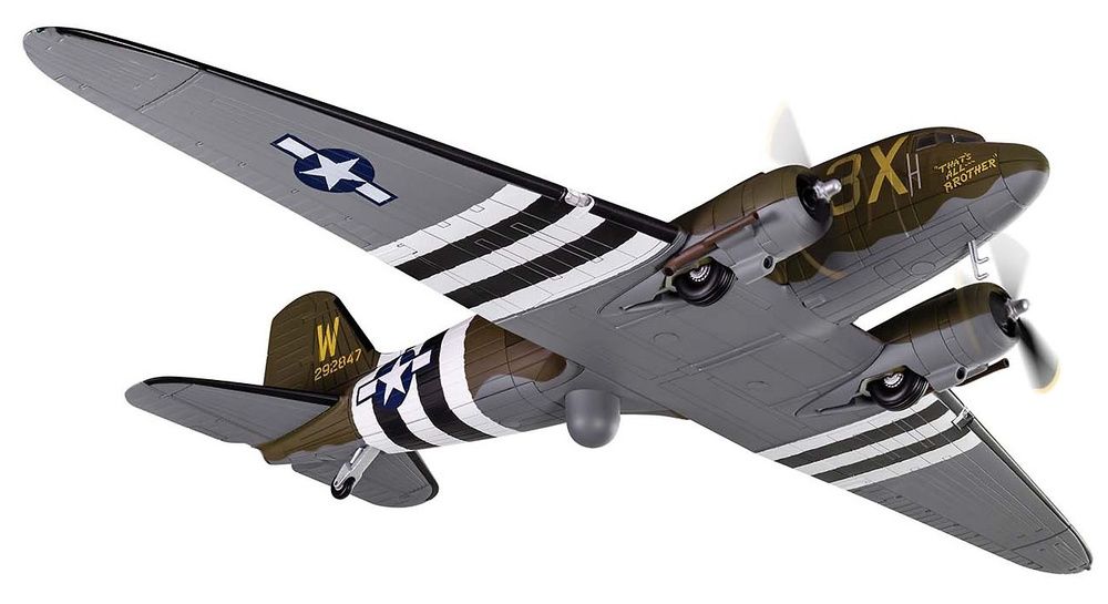 Douglas Dakota C-47A Skytrain 42-92847 'That's All Brother', 5 y 6 de Junio, 1944, 1:72, Corgi