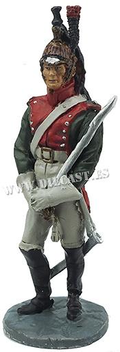 Dragón del 7º Regimiento de Dragones, 1812, 1:32, Hobby & Work