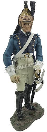 Dragón del 8º Regimiento de Dragones, 1803, 1:32, Hobby & Work