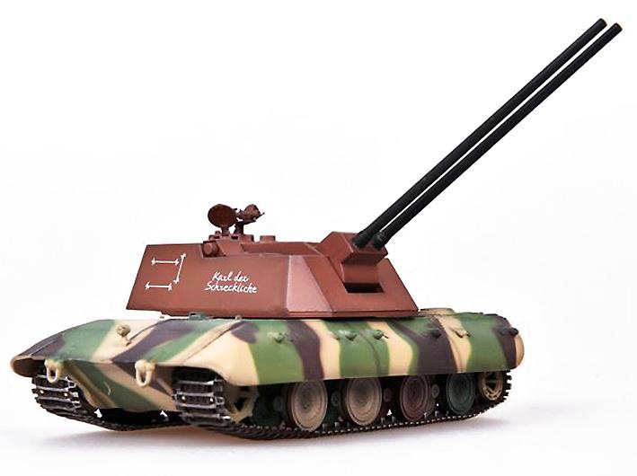 E-100 Flakpanzer con FLAK 88, Tanque Super Pesado, Alemania, 1946, 1:72, Modelcollect