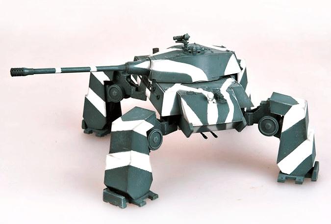 E-75 Vierfuessler (Cuadrúpedo), Geraet58, panzer pesado, Alemania, 1946, 1:72, Modelcollect
