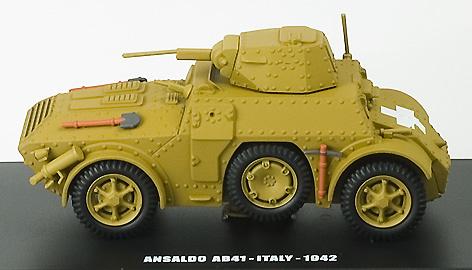 E.G., ANSALDO AB41, ITALY 1942, 1:43