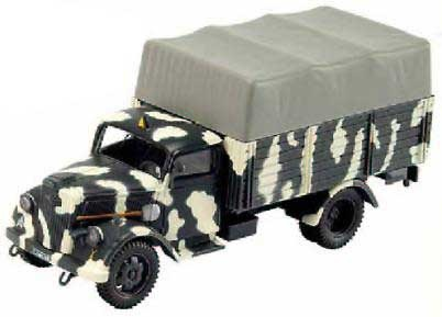 E.G., OPEL BLIZ CANVAS WEHRMARCH 1944, 1:43