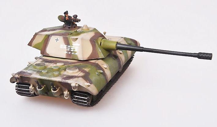 E100 Ausf C, Tanque Super Pesado, Alemania, 1946, 1:72 ...