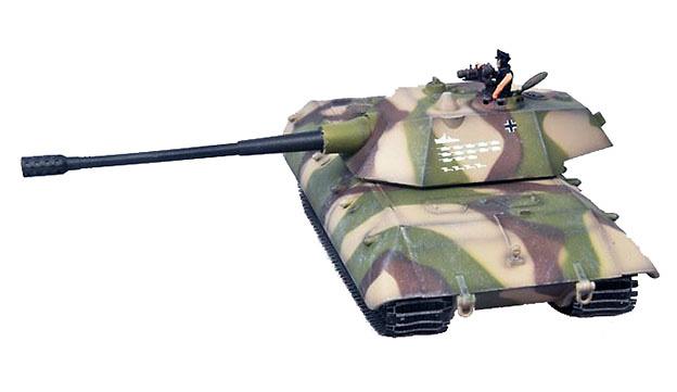 E100 Ausf C, Tanque Super Pesado, Alemania, 1946, 1:72, Modelcollect