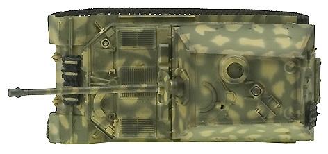 Elefant, 653rd Panzerjager Abt, Italia, 1944, 1:72, Easy Model