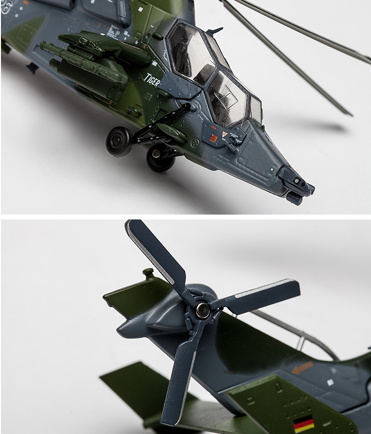 Eurocopter EC 665 Tiger, German Army, Attack Helicopter Rgt 36, 74+26, Fritzlar Airfied, Alemania, 1:72, Air Force One