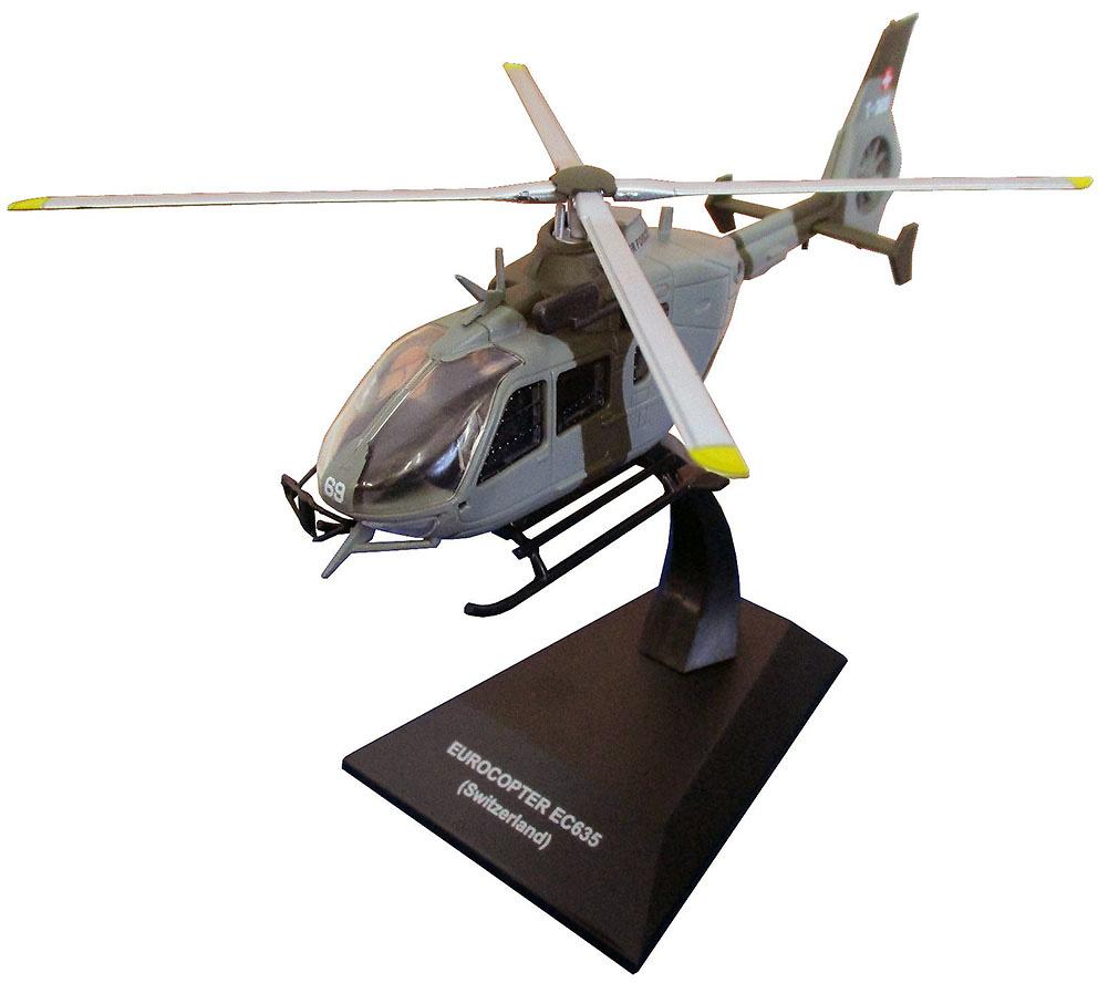Die cast 1//72 Modellino Elicottero Helicopter Eurocopter EC635 Switzerland
