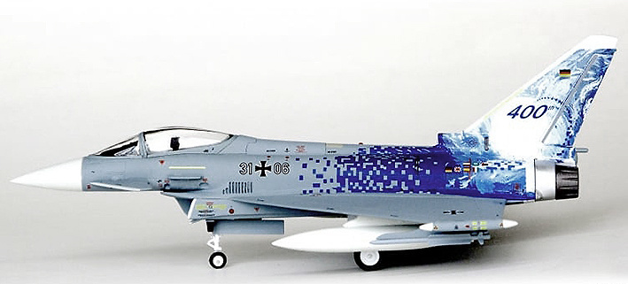 Eurofighter EF-2000, TaktLwG 31, Luftwaffe, Boelcke, 1:72, JC Wings