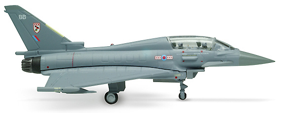 Eurofighter EF-2000 Typhoon, Royal Air Force 29 Squadron, 1:200, Herpa