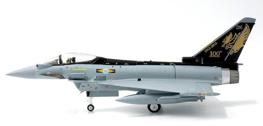 Eurofighter Typhoon FGR.Mk 4, RAF, No.11 Sqn, 2015, 1:72, JC Wings