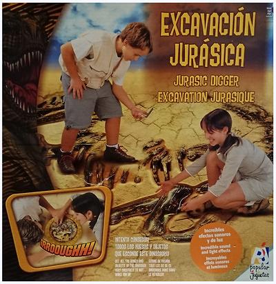 Excavación Jurásica, Popular Juguetes