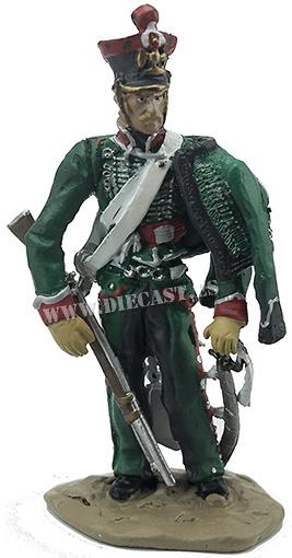 Explorador del 1º Regimiento de Exploradores de la Guardia Imperial, Escuadrón de la Vieja Guardia, 1814, 1:32, Hobby & Work
