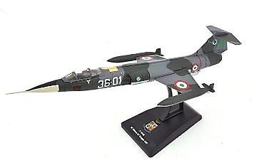 F-104S, 51º Stormo, 22º Gruppo C.I.O., Aviación Militar Italiana, 1:100, RCS Libri