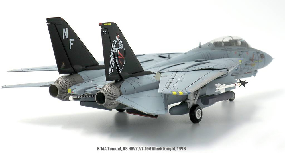 F-14A Tomcat, USN VF-154 Black Knights, 1998, 1:72, JC Wings