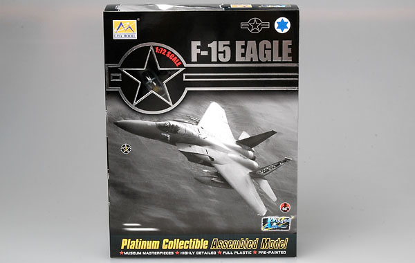 F-15C, 85-0102/EG, 58 TFS/33 TFW, 1991, 1:72, Easy Model