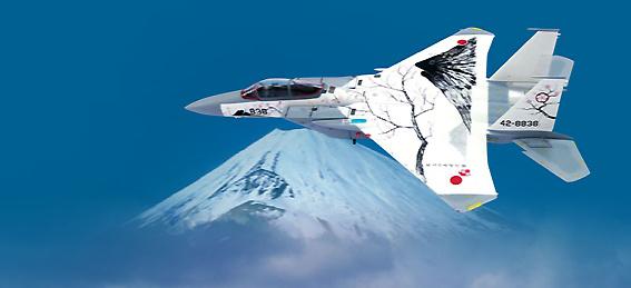 F-15J JASDF MOUNT FUJI 305TFS, 1:72, Witty Wings