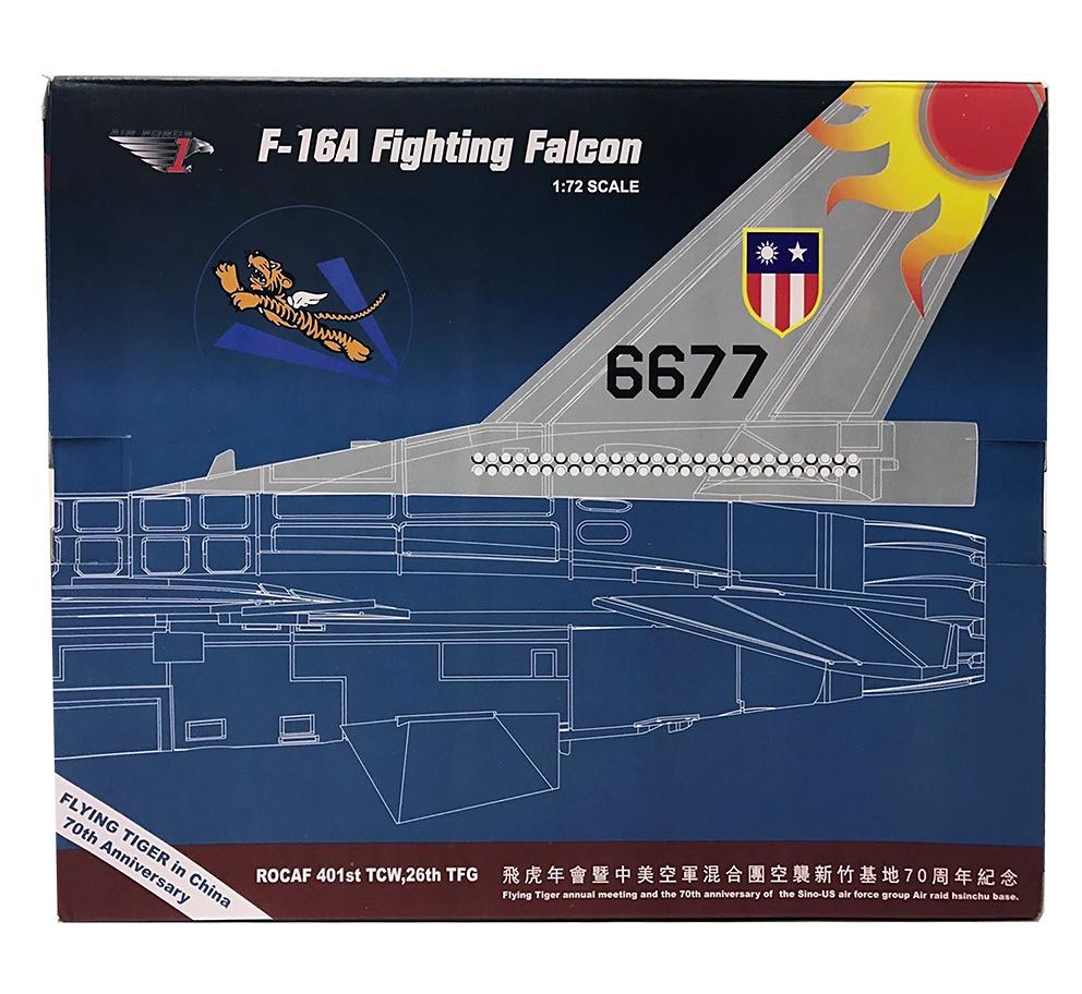 F-16A ROCAF 6677, 401st TFW, 26th TFG, Base Aérea de Hualian, Taiwan, 1:72, Air Force One