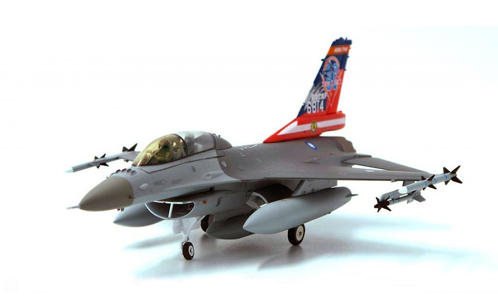F-16C Fighting Falcon ROCAF, 455th Tactical Fighter Wing, 80 Aniv. Guerra Chino-Japonesa, Base Aérea de Chiayi, 2007, 1:72, JC Wings