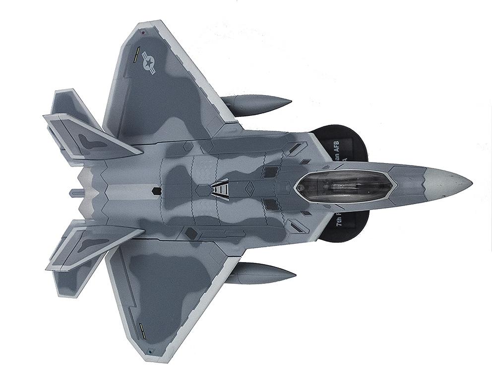 F-22A Raptor, 7th FS, 49th FW, Base Aérea Holloman, Nuevo México, USA , 1:100, Italeri